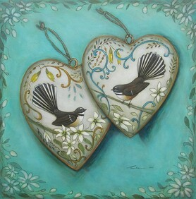 Two Hearts / Print