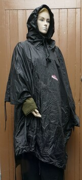 Big Country Outdoors Poncho- Black