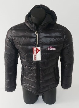 Big Country Outdoors Puffer Jacket-Black