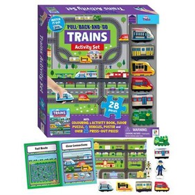 Pull Back and Go Kit - Trains