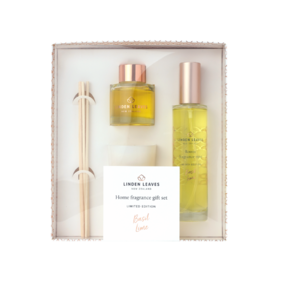 Limited Edition Basil Lime Home Fragrance Giftset