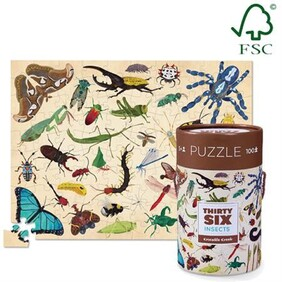 Croc Creek 100pc 36 Animal Puzzle Insects