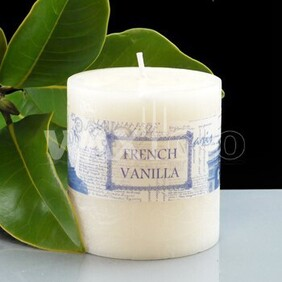 French Vanilla Cylinder Candle