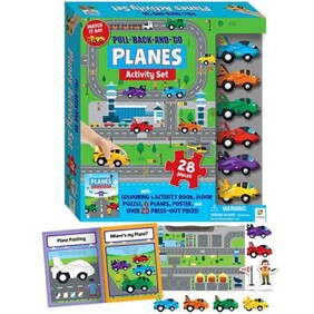 Pull Back and Go Kit - Planes