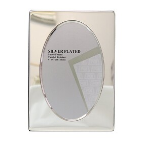 """Silver Photo Frame Style 7 6x4"""""""