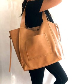 Chelsea Leather Tote Bag