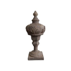 Architectural Finial Brown
