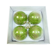 Faded Green Glass Bauble
