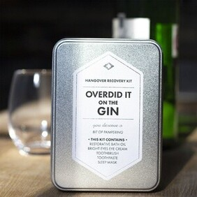 Hangover Recovery Kit - Overdid It On The Gin