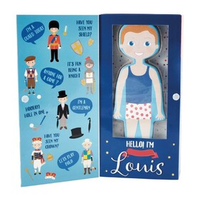 D Louis Magnetic Dress Up Character
