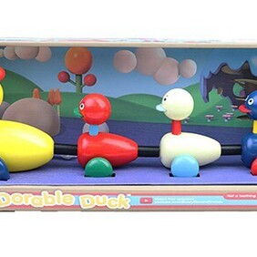 Dorable Duck Pull Along Toy