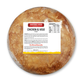 Family Chicken and Vege Pie - 650g