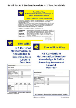 Level 4 Assessment Screen Small Pack