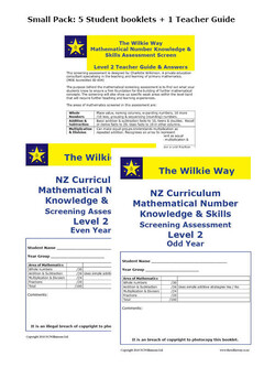 Level 2 Assessment Screen Small Pack