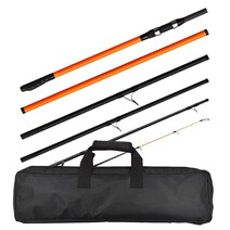 Tica Galant 1466 100-220g 6pc Surf Rod with Case