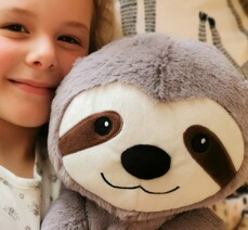 Slothy Weighted Teddy - IN STOCK!