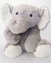 Alice the Elephant Weighted Teddy - IN STOCK!