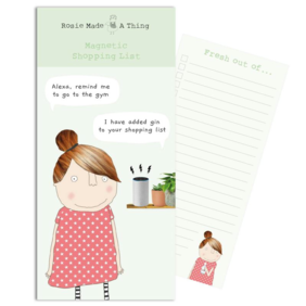 Rosie made a thing| Alexa gin-Magnetic list pad