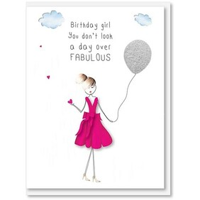 iCandy | Card Birthday - You don't look a day over fabulous