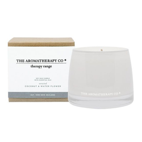The Aromatherapy Co | Therapy Candle Unwind - Coconut & Water Flower