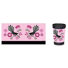 Cuppacoffee Cup | Pink Fantail