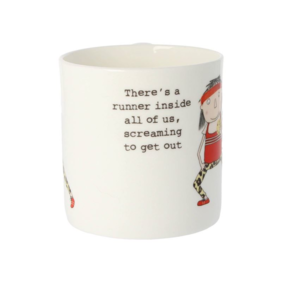 Rosie made a thing|Mug-There's a runner inside all of us