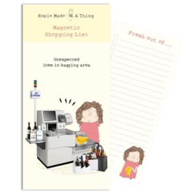 Rosie Made a Thing| Bagging Area-Magnetic list pad