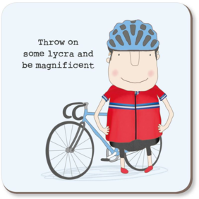 Rosie Made a Thing| Lycra coaster