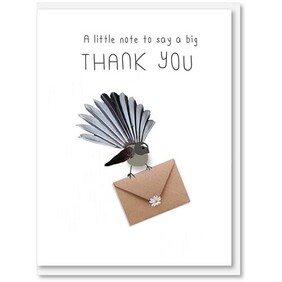 iCandy | Card - A little note to day a big thank you