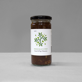 Omahu Valley Citrus | Lime & Fig Chutney