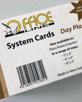 1035 5 x 3 Day Planner System Cards 100s