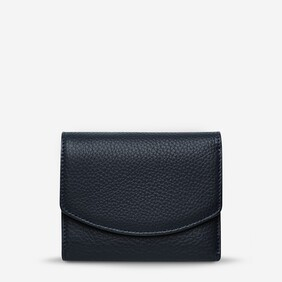Status Anxiety Navy Lucky Sometimes Wallet