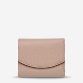 Status Anxiety Dusty Pink Lucky Sometimes Wallet