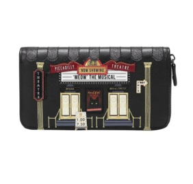 Vendula Piccadilly Theatre Large Zip Around Wallet
