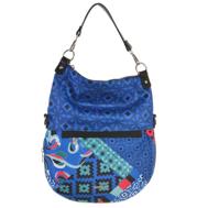 Desigual Blue Geometric Cross Body Bag