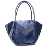 Desigual Navy Shopper - Two in One