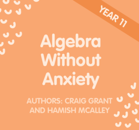 Algebra without Anxiety – Year 11