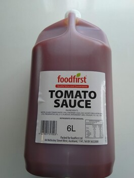Foodfirst Tomato Sauce 6L