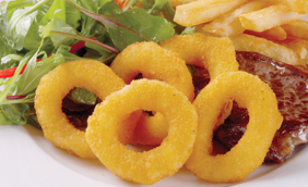Crumbed Onion Rings 1kg