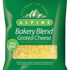 Alpine Grated Cheese 5kg