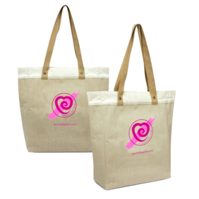 Touched By PInk Tote Bag