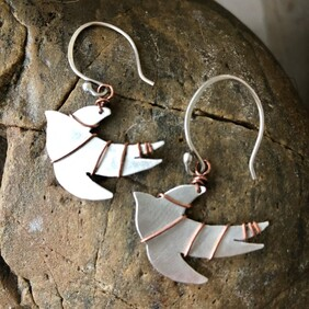 5. Sonia Therese Freedom Swallow Earrings
