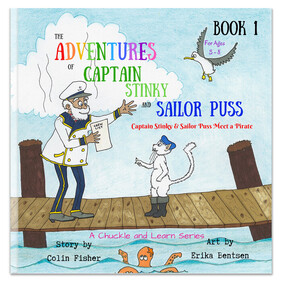 The Adventures of Captain Stinky and Sailor Puss - Captain Stinky and Sailor Puss Meet a Pirate