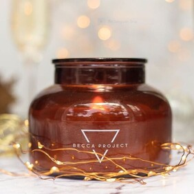Becca Project Toffee Candle (Large)