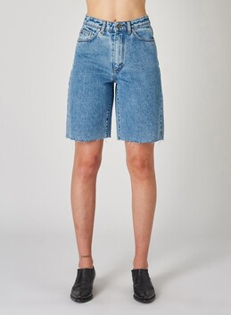 Neuw Chloe Shorts - Spin Out Blue