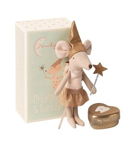 Maileg Tooth Fairy Mouse in a Box - Girl