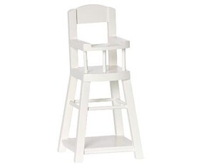 Maileg High Chair For My Baby - Ivory