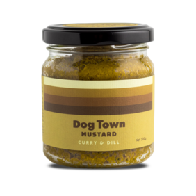 Dog Town Mustard - Curry & Dill