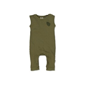 Burrow & Be Tommy Romper - Olive