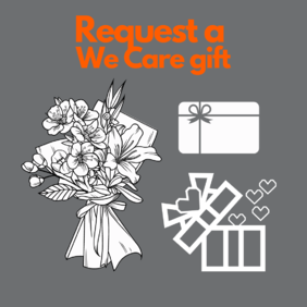 Order a We care gift for someone